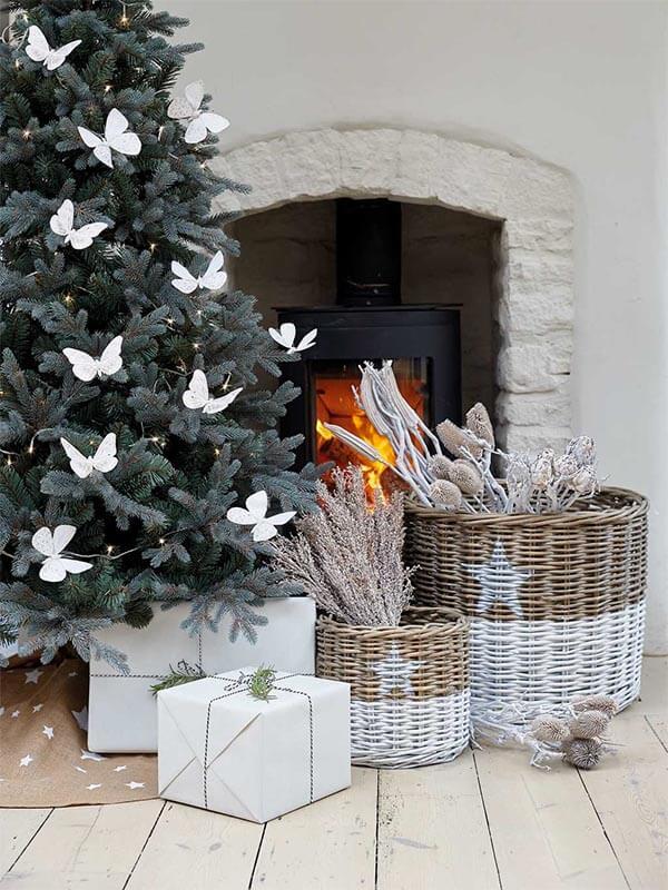 kerstdecoratie idee natuurlijk