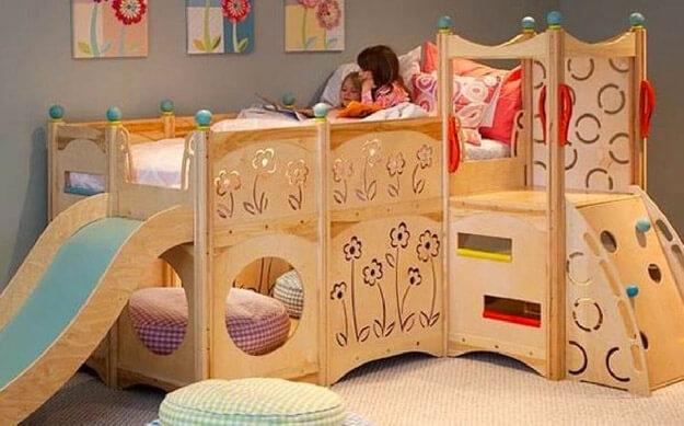 leuke-ideeen-voor-kinderkamer-glijbaan