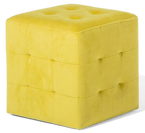 poef-geel