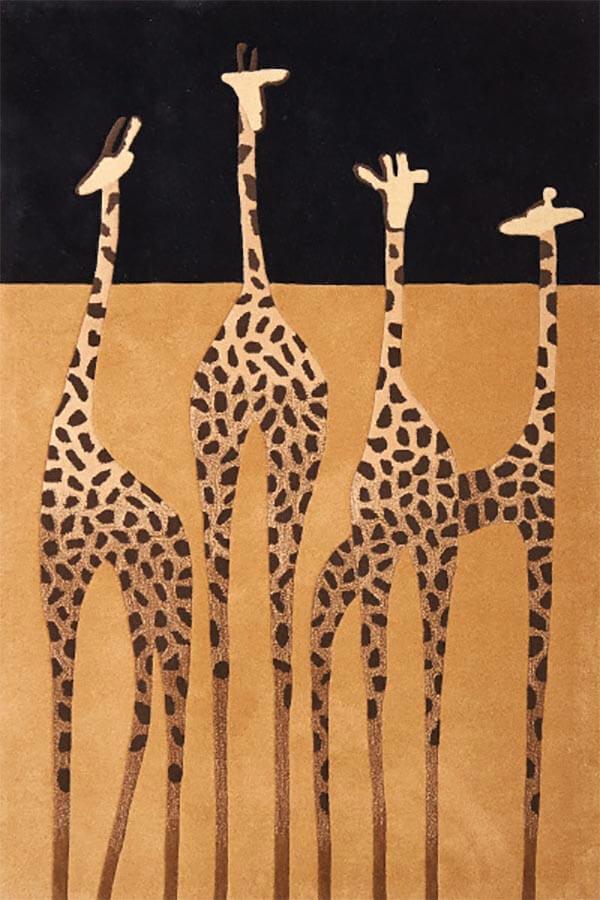 Vloerkleed giraf