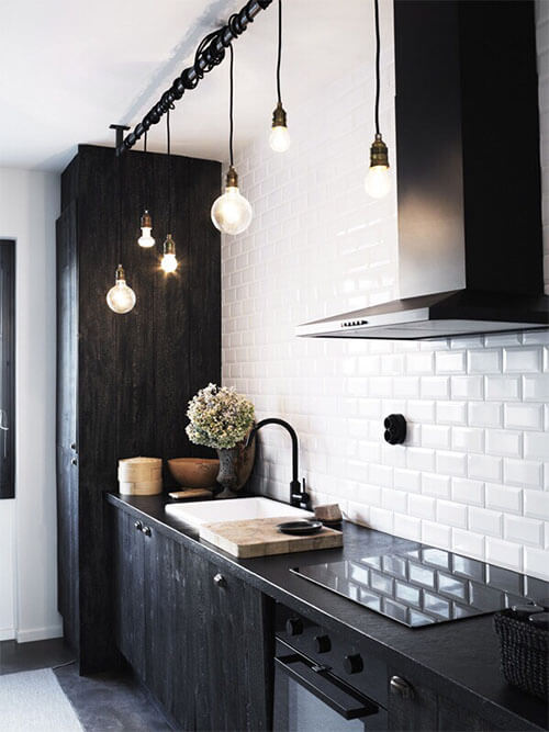 Zwart witte keuken in jouw moderne interieur | Ik woon fijn