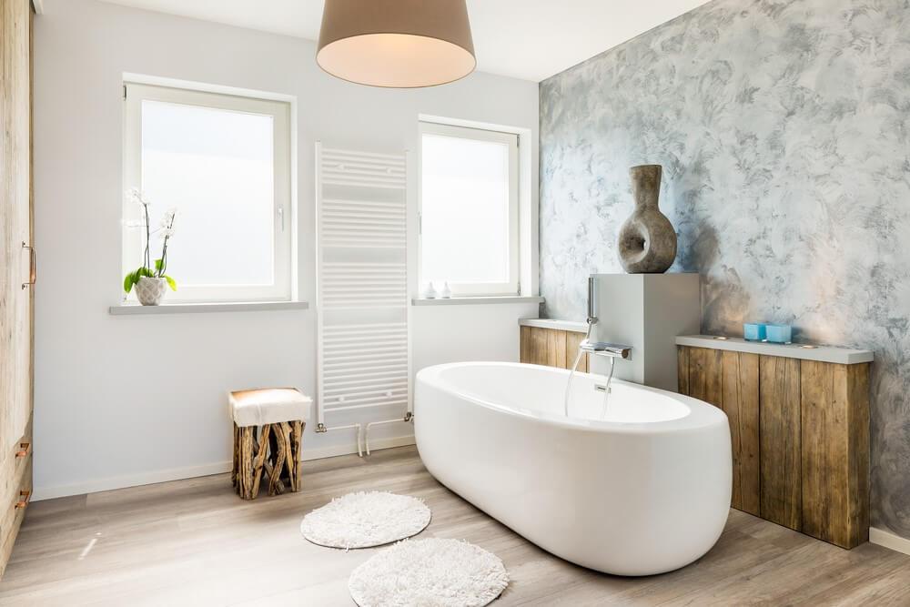 plisse gordijnen badkamer