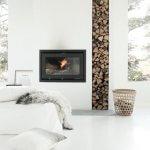 Inspiratie: een houtstapel in huis!