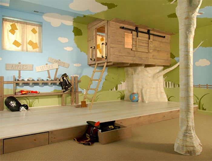 10 levensgrote poppenhuizen voor kinderen (boomhut)