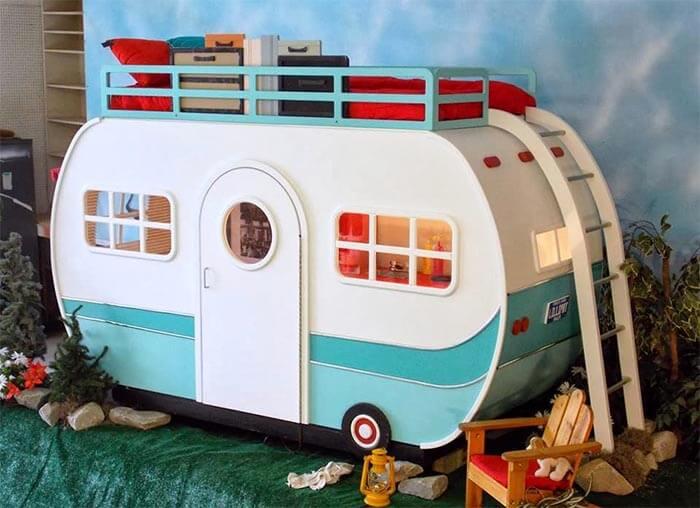 10 levensgrote poppenhuizen voor kinderen (caravan)
