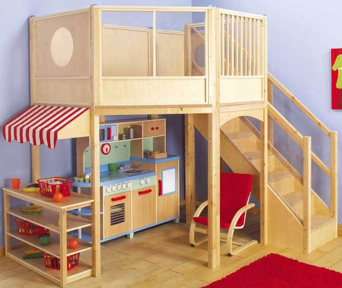 10 levensgrote poppenhuizen voor kinderen (keuken)