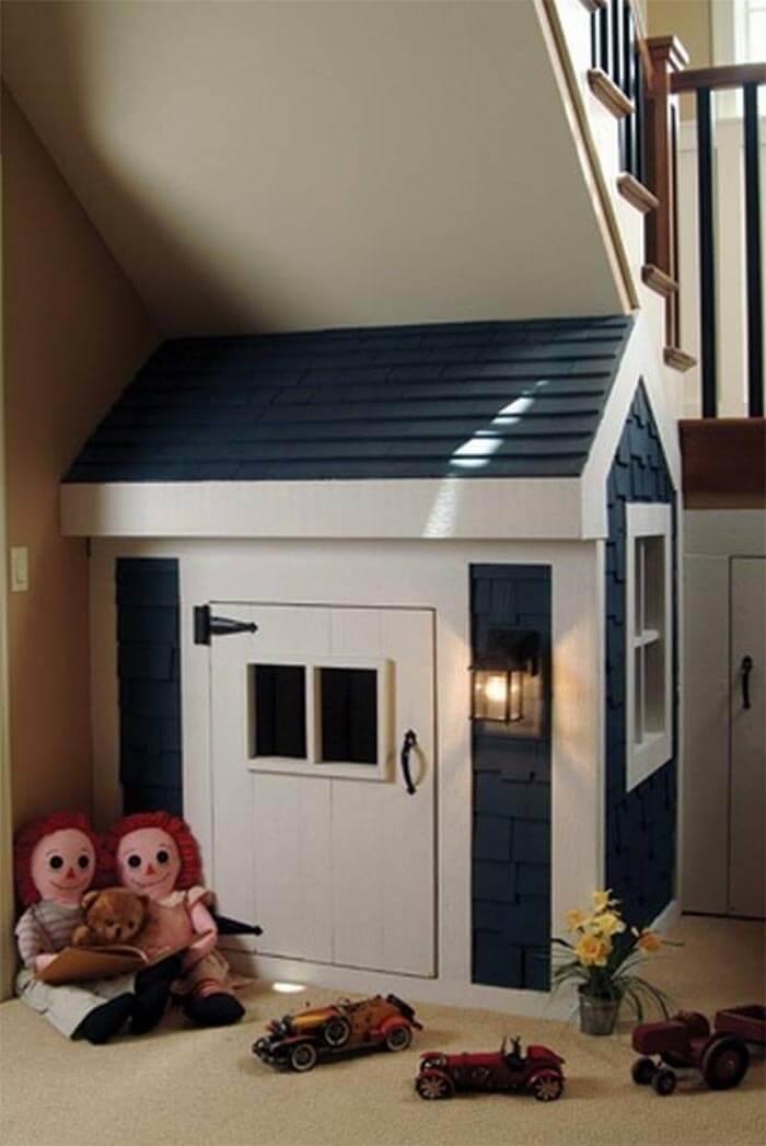 10 levensgrote poppenhuizen voor kinderen (onder trap)