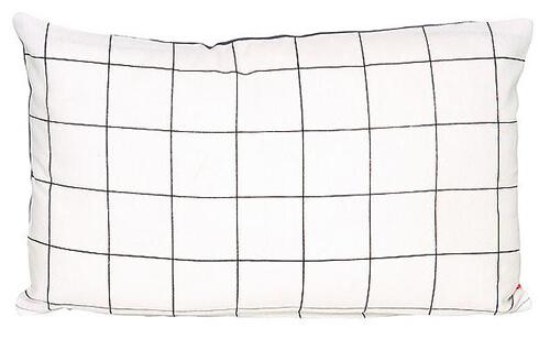 10 woonaccessoires met patroon kussen grid