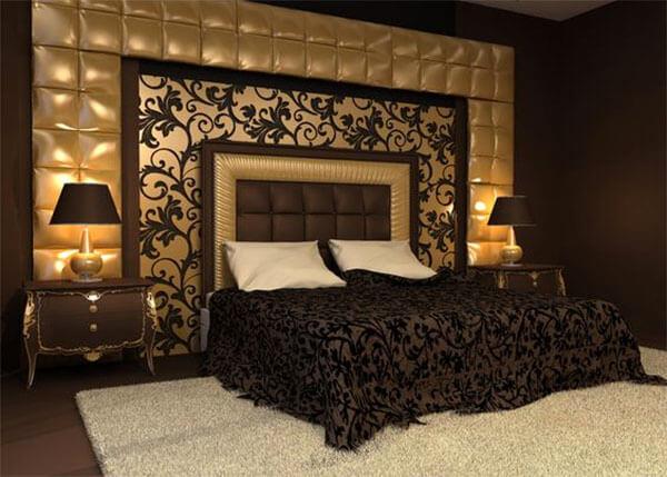 Barok slaapkamer donker