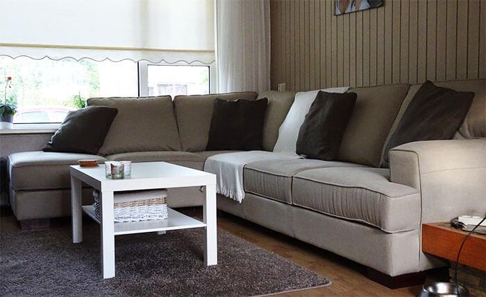 Binnenkijken bij Anouk in Heerenveen: beige woonkamer | Ik woon fijn