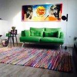 Binnenkijken bij Danique: kleurrijk en vintage