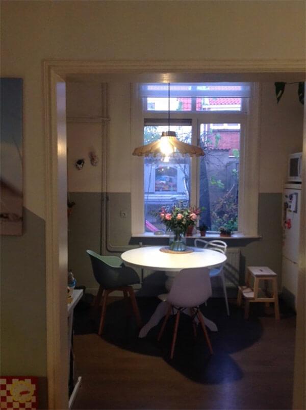 Keuken eethoek klein keuken houten werkblad gehoor geven aan uw huis leuke idee n voor een - Keuken open voor woonkamer klein gebied ...