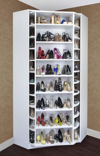 Draaikast voor schoenen
