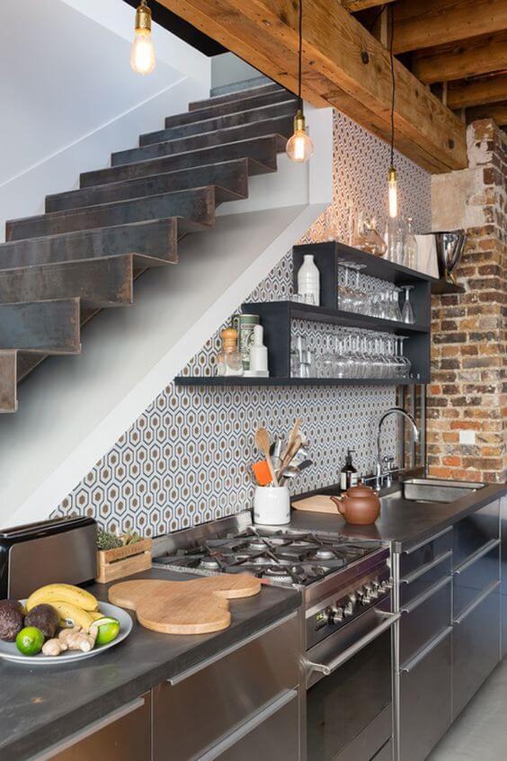 industriele keuken van roestvrij staal