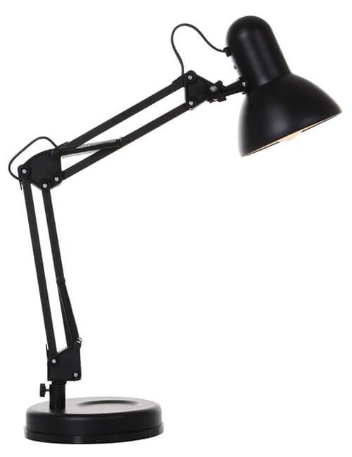 Industriële werkkamer bureaulamp