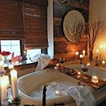Romantische badkamer: 6 sfeervolle ideeën