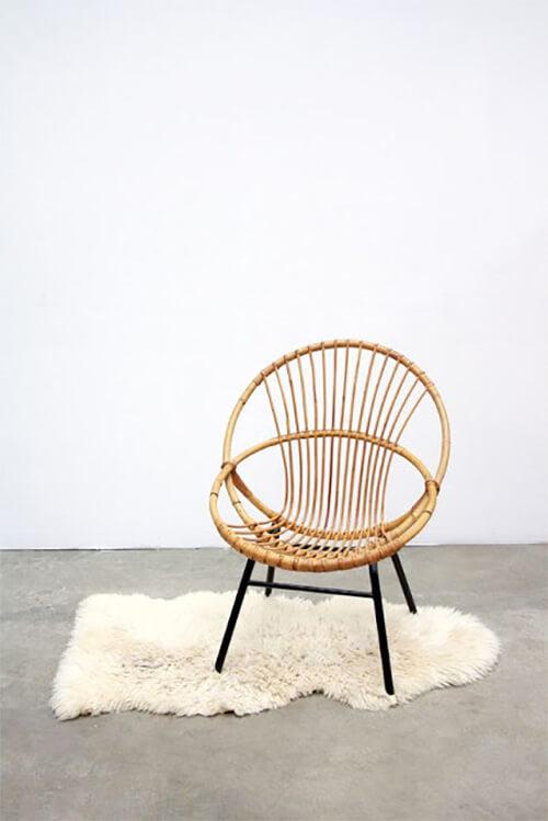 7 keer bamboe stoel