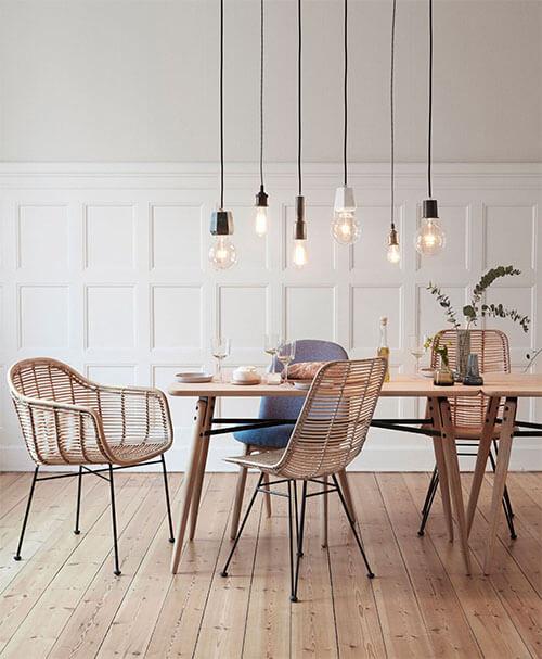 7 keer bamboe stoelen