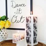 8 DIY ideeën voor foto's in huis