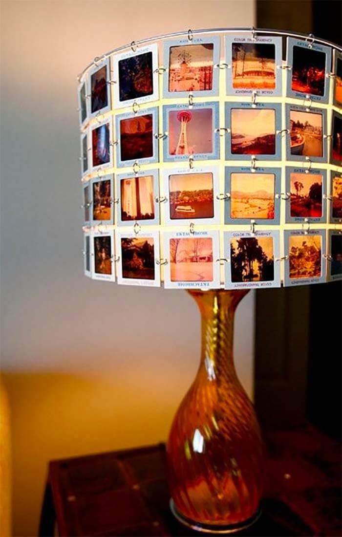 8 DIY ideeën voor foto's in huis lamp