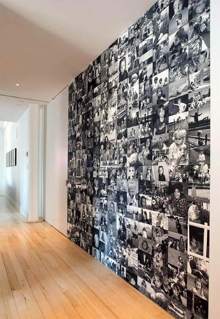 8 DIY ideeën voor foto's in huis muur