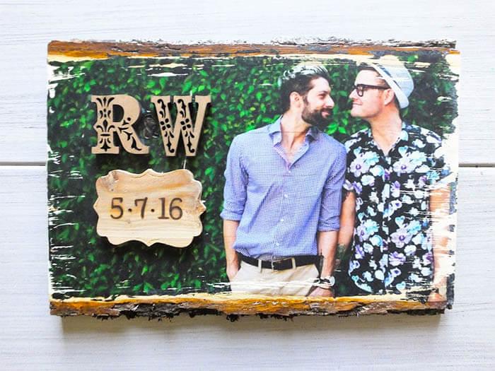 8 DIY ideeën voor foto's in huis trouwfoto