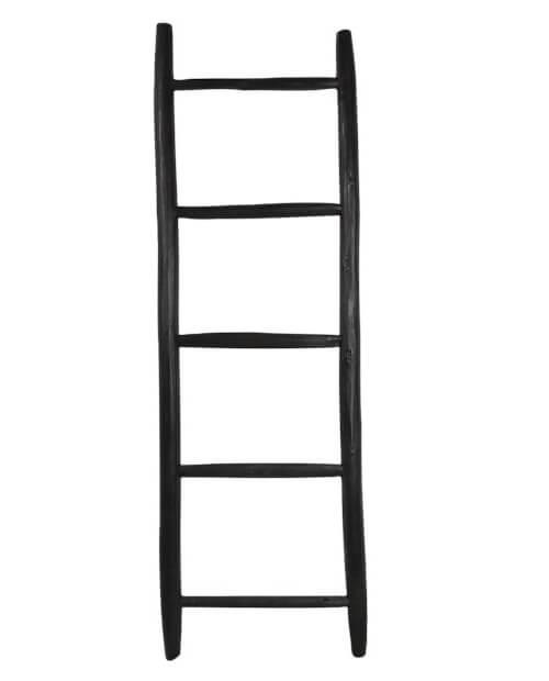 Rustieke slaapkamer ladder