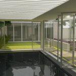 Ontwerp: Tuin met zwembad