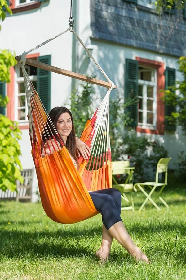 Hangstoel voor buiten Orquidea