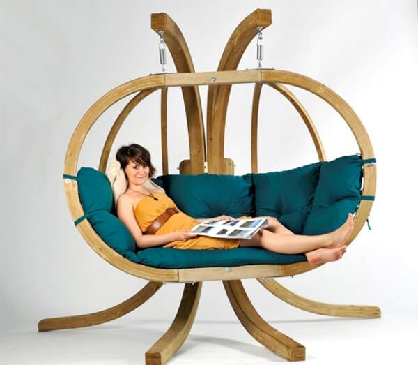 Hangstoel voor buiten amazonas globo royal