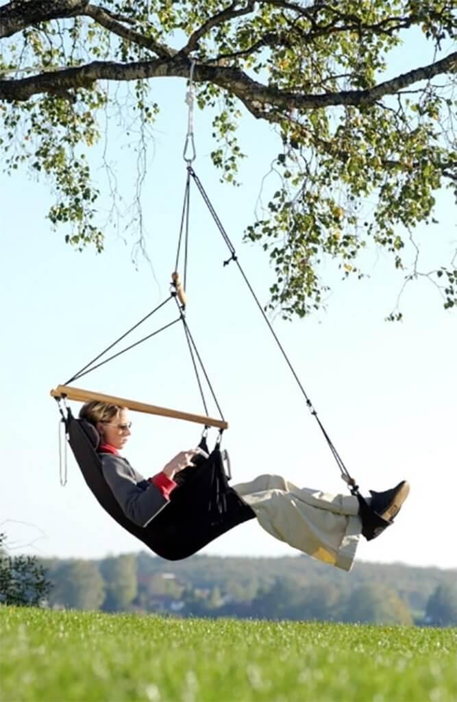 Hangstoel voor buiten swinger