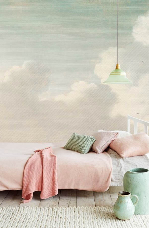 pastel interieur bed