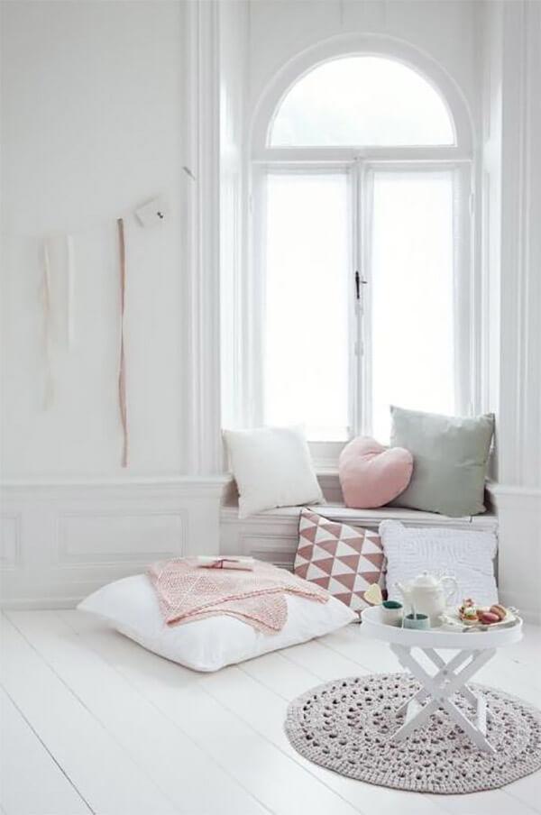 Pastel interieur hoekje