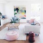 Pastel interieur: 7 prachtige voorbeelden