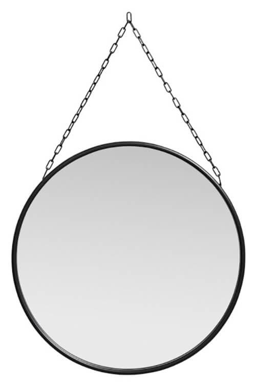 Scandinavische hal spiegel