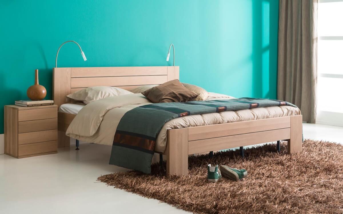 Slaapkamer in subtiel luxe stijl
