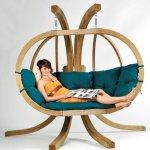 7x bijzondere hangstoelen voor in je tuin