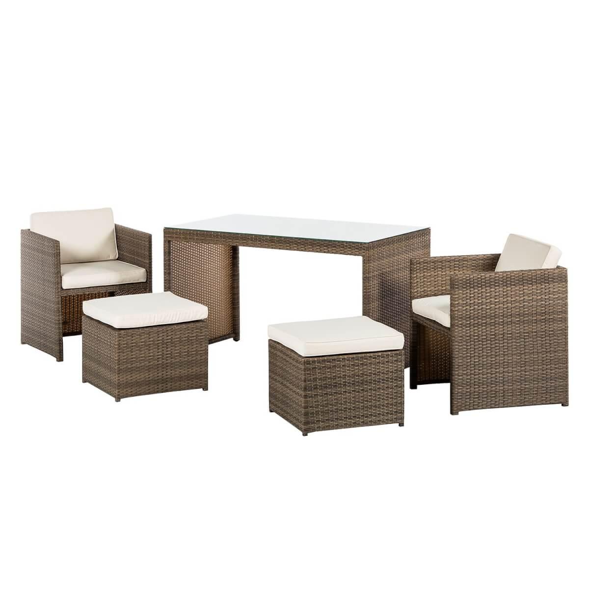 Loungeset Merano voor balkon