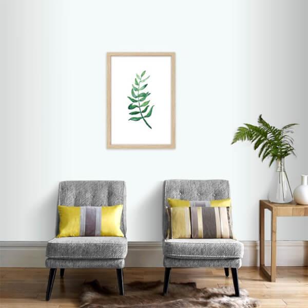 Botantische wanddecoratie blad poster