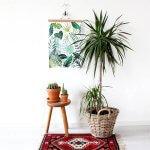 Botanische wanddecoratie: 8 prachtige items
