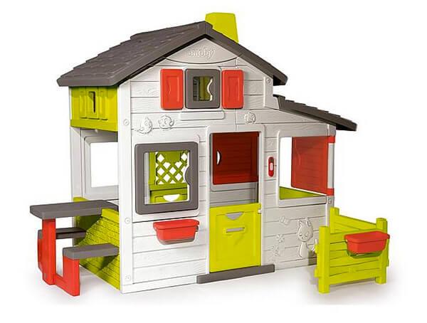 Buitenspeelgoed huisje