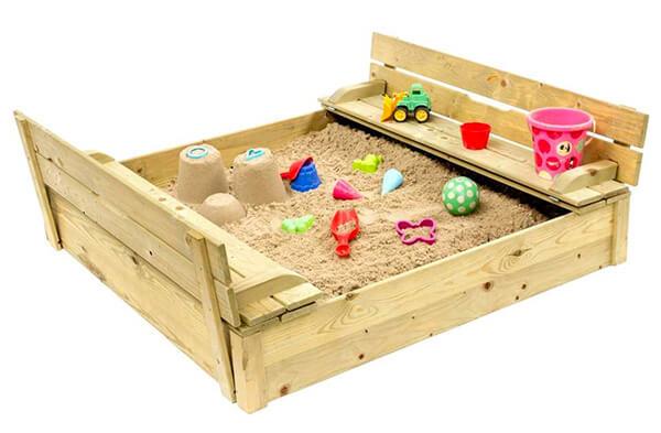 Buitenspeelgoed zandbak