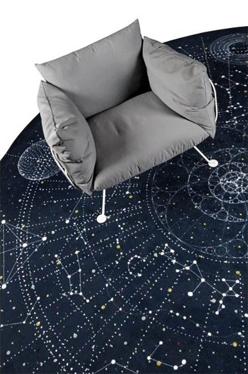 Galaxy items vloerkleed