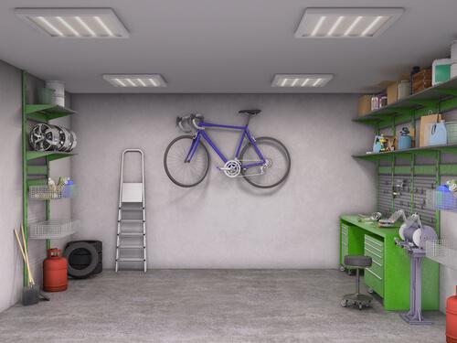 De garage praktisch indelen