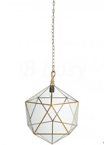 Industriele woonkamer lamp