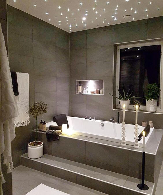 Luxe ligbaden 10x inspiratie ik woon fijn - Moderne badkamer met ligbad ...