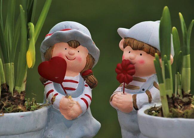 Romantische decoratie