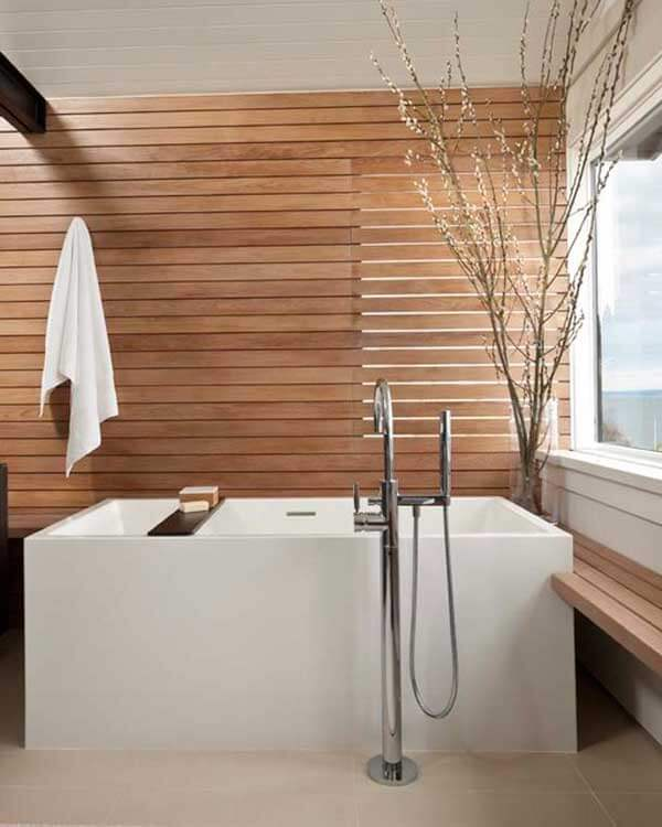 Scandinavische stijl hout
