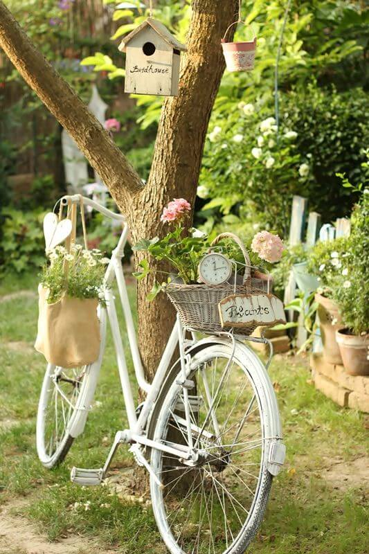 Super romantische tuin decoraties