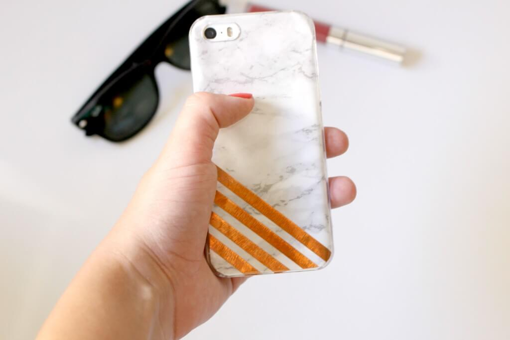 marmeren iphone case